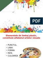 Elemente de Limbaj Plastic Linia