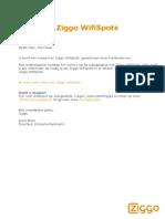 Instellen Ziggo WifiSpots