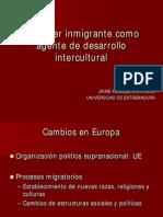 La Mujer Inmigrante Como Agente de Desarrollo Intercultural