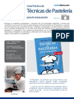 Libro Cocina 002 Tecnicas Pasteleria Puigbo