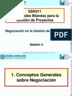 Negociación en La Gestión de Proyectos