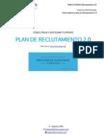 Plan Reclutamiento 2.0 Plantilla Profesional