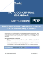 FundingModel StandardConceptNote Instructions Es