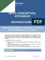FundingModel StandardConceptNote Instructions Es