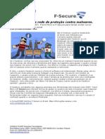 CONSULTCORP F-SECURE Facebook Amplia Rede de Proteção Contra Malwares.