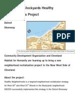 The Habitat-Stockyards Healthy Neighborhoods Project