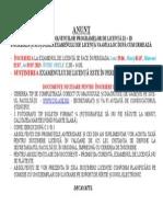 - Anunt Inscriere Examen Licenta - Iulie 2015