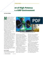 contamination control in pharmaceutical faclity