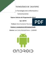 Instalación Android Studio
