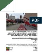 Gestión Social, Comunicación y Enfoque Marco Lógico - BICIPLAN para el Área Metropolitana de Monterrey