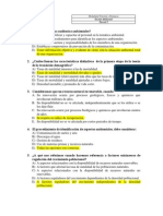 Gestion Ambiental - Parcial I