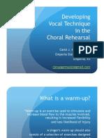 Vocal Technique