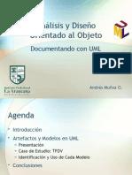 Presentación sobre A/DOO y UML
