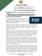 Nota de Prensa 018 - Arma Prepara Proyecto de Recuperación y Conservación de Las Sub Cuencas Del Colca y Cotahuasi
