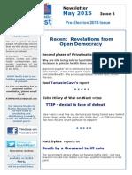 KONP NE Newsletter Pre-election May 2015
