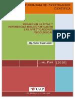 Modelo de Citas y Referencias 2010