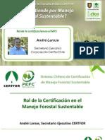 Rol de La Certificación en el Manejo Forestal Sustentable - André Laroze