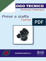 Catalogo Tecnico Abrazaderdas 2 Cuerpos Alfa Italia