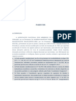 Parecer José Afonso Da Silva sobre a contribuição dos inativos