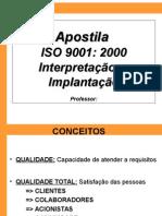 Interpretacao e Implantacao ISO 9001