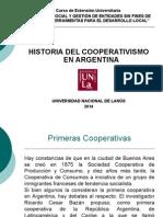 Clase 6 Historia Del Cooperativismo en Argentina