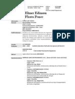 CV Elmer Edinson Flores Ponce M3 FIM UNI