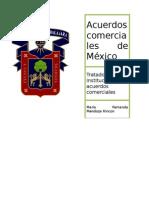 Acuerdos comerciale de Mexico
