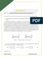 Procedimiento Sistemático de Ensamblaje de Elementos Unidimensionales