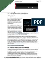 Project Management Certifications Matter_CIO