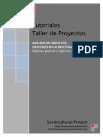 7099642 Objetivo General y Objetivos Especificos