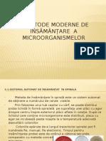 3. Metode Moderne de Însămânțare a Microorganismelor