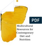 multicultural resources for contemporary diet and nutrition