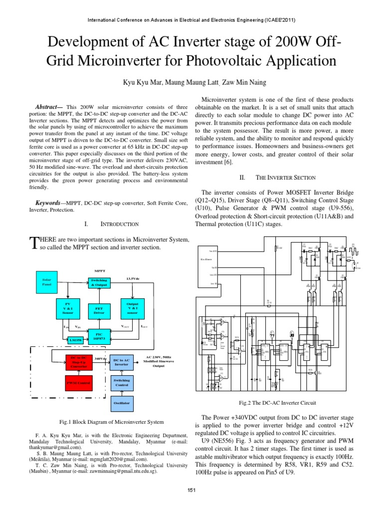 Ii Di I Line Simulator Induction Cooker Circuit Diagram Using Lm339