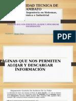Alojamiento de Información