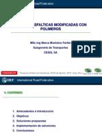 Mezclas Asfalticas Modificadas Con Polimeros
