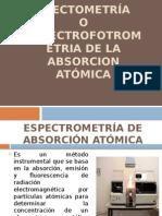 Espectometría o Expectrofotrometria de La Absorcion Atómica