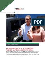 07-06-2015 Controversia Puebla - Invita Moreno Valle a Ciudadanos a Votar y Abatir El Abstencionismo