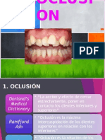 Maloclusion Dentales