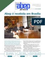 ABEP é recebida em Brasília - maio de 2008