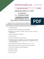 Boletín Oficial de Castilla y León