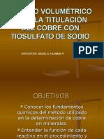 130780592 Metodo Volumetrico Para La Titulacion Del Cobre Con Tiosulfato de Sodio