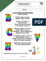 Ficha Poema El Abecedario