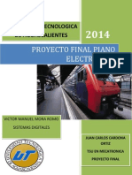 Proyecto Final Piano Electronico