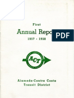 AC Transit Annual Report 1957-1958