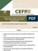 Ejercicio Del Gasto Público 2do Trimestre 2014