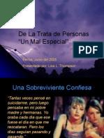 Sex Trafficing Spanish Version 2011