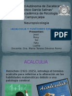 Acalculia