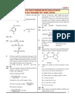 AIPMT 2015 Sample Paper