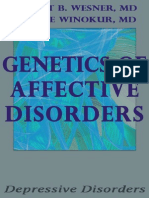 Genetics of Affective Disorders - Robert b Wesner Md (1)