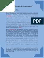 DESHUMANIZACIÓN EN SALUD documento de apoyo